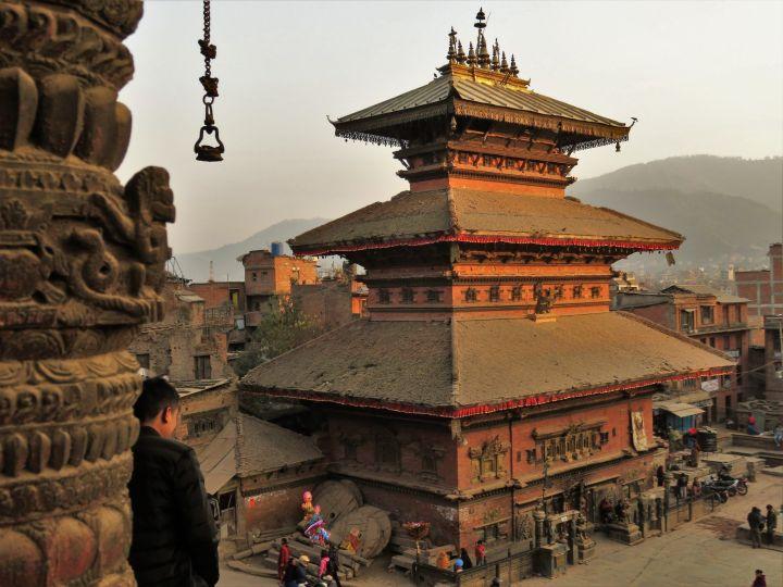 Plaza Taumadhi Square, Bhaktapur, Nepal