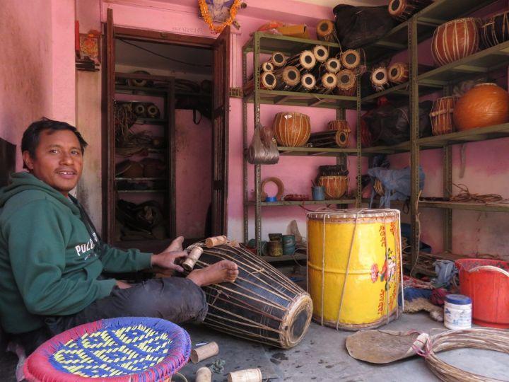Luthier, Bhaktapur, Nepal