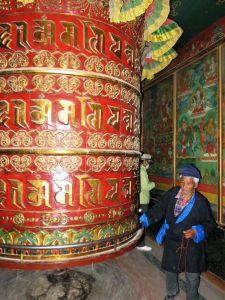 Rollo de oración, Estupa Boudha Stupa, Katmandú