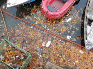Ganges contaminado, Benarés, Varanasi, India