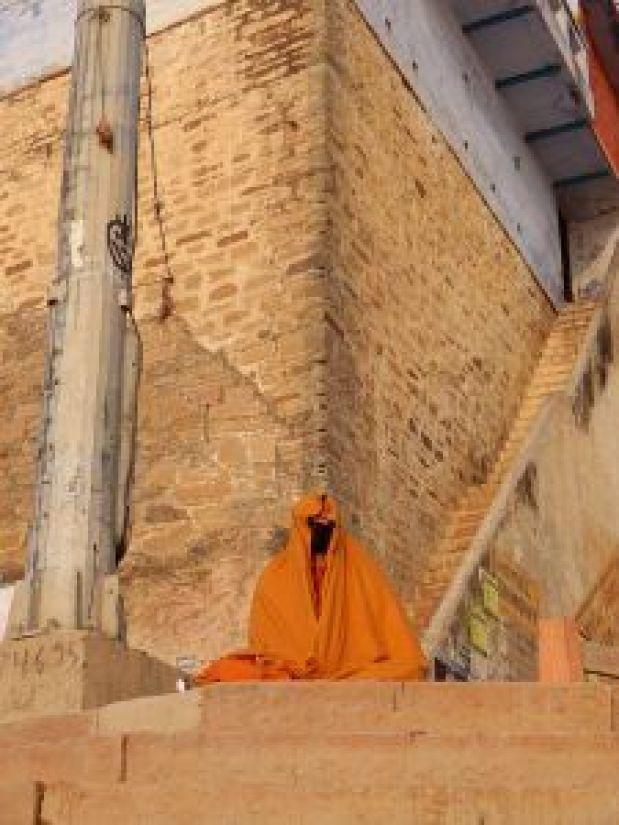 Meditante fantasma, Benarés, Varanasi, India