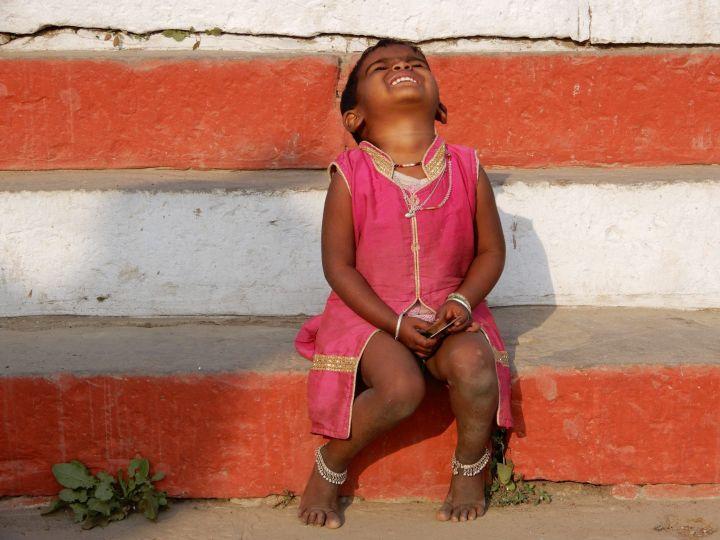 Niña expresiva, Benarés, Varanasi, India