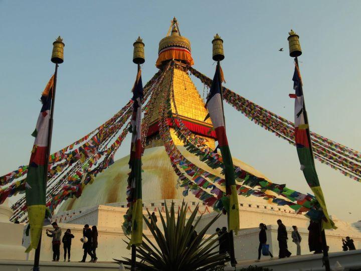 Estupa Boudha Stupa, Katmandú, Nepal