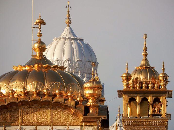 Cúpulas, Templo Dorado Golden Temple, Amritsar, India