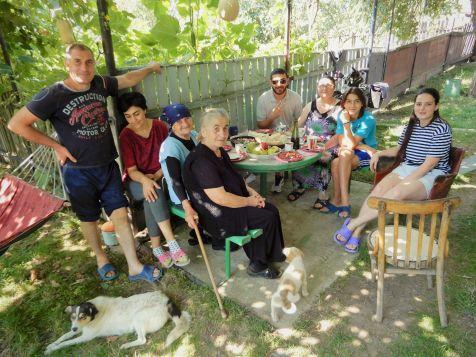 Familia de acogida en Surami, Georgia