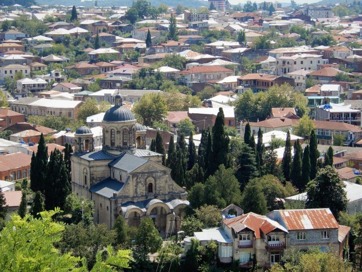 Georgia, ciudad de Kutaisi