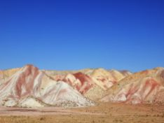 Montes de colores, Afueras de Tabriz, Azerbayán Oriental, Irán