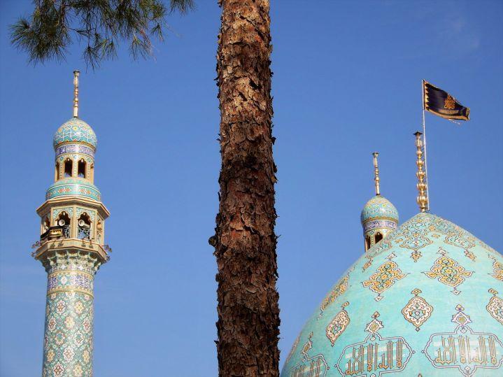 Cúpula mezquita Jankaran, Iran