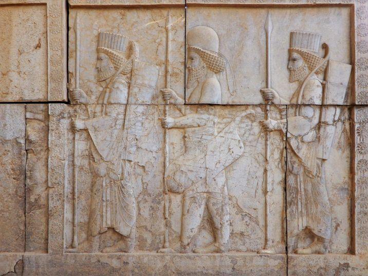 Audiencia real Persépolis, Irán