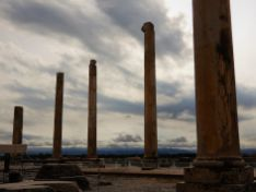 Hilera de columnas, Persépolis, Irán
