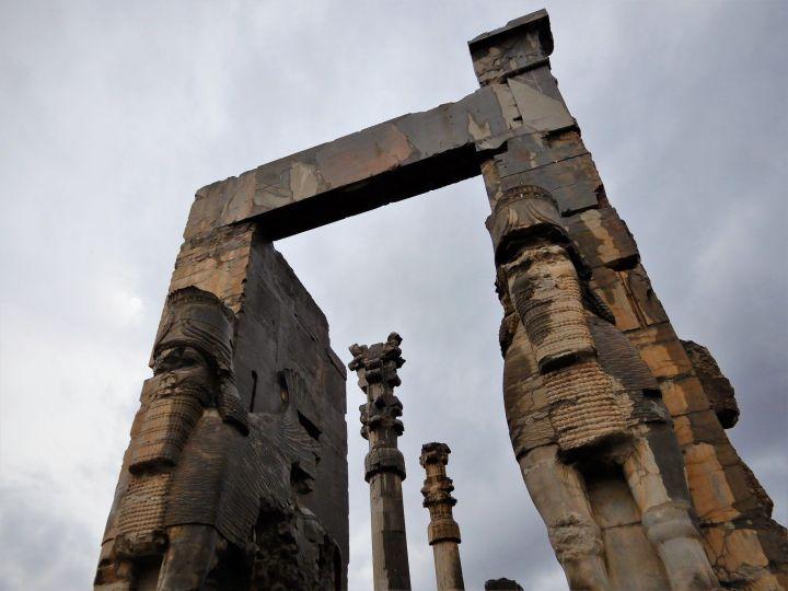 Puerta de entrada palacio Persépolis, Iran