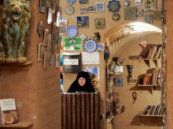 Comercio en Yazd, Iran