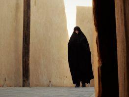 Mujer con chador, Yazd, Iran