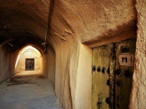 Puertas en Yazd, Iran