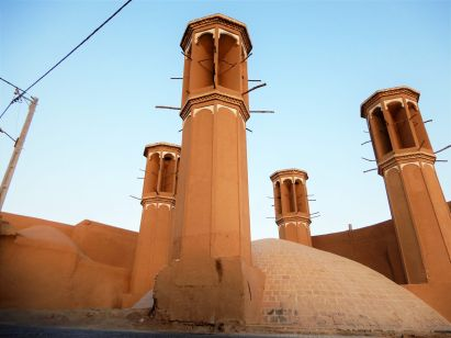 Yazd Patrimonio de la Humanidad, Iran