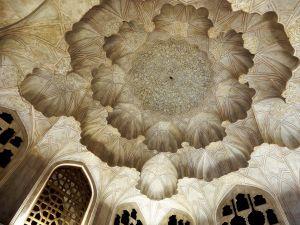 Detalle de cúpula, Isfahan, Iran