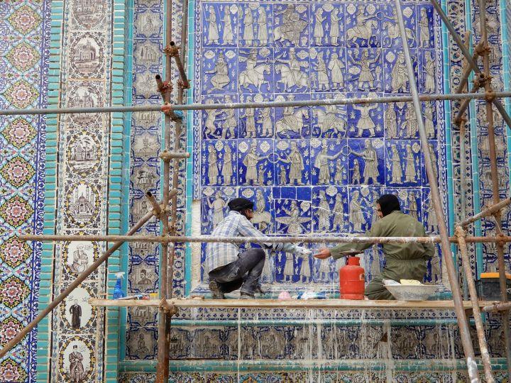 Mural cerámico Kurdistán