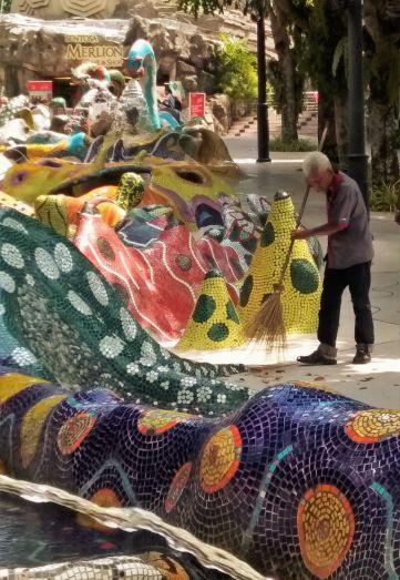Trabajo de mosaicos