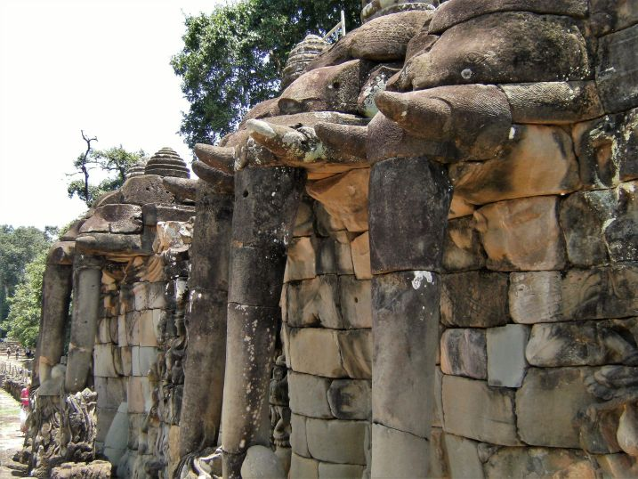Elephants Terrace, Angkor, Cambodia