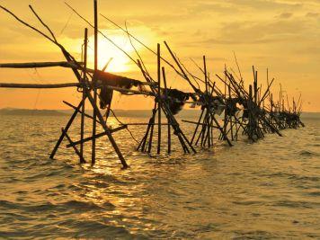 Arte de pesca en Bandar Seri Begawan