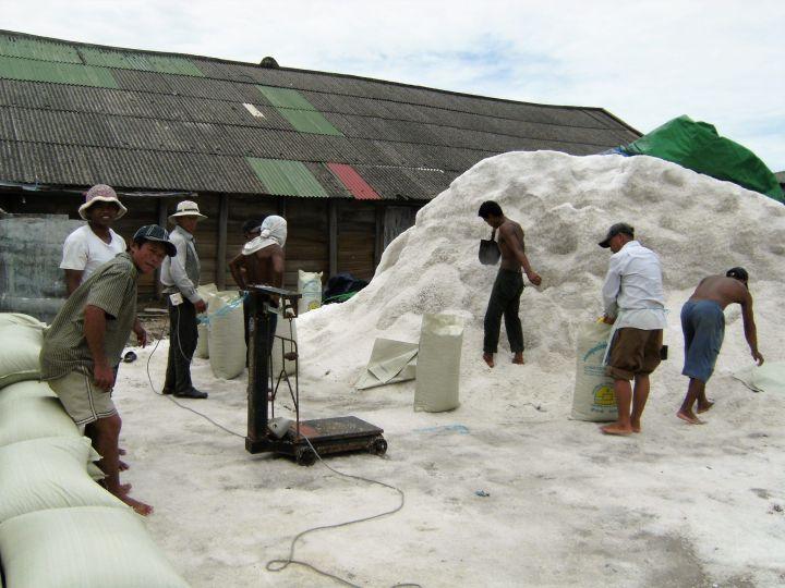 Minas de sal, Kampot, Camboya