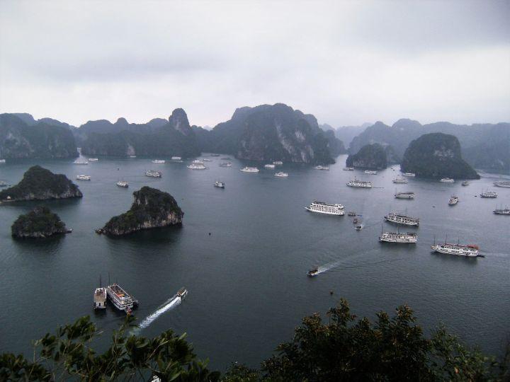 Panorámica Ha Long Bay