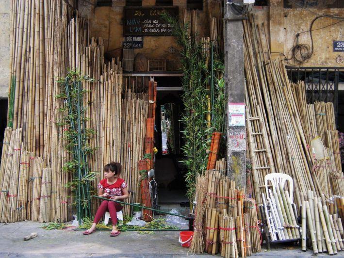 Venta de bambú, Saigon