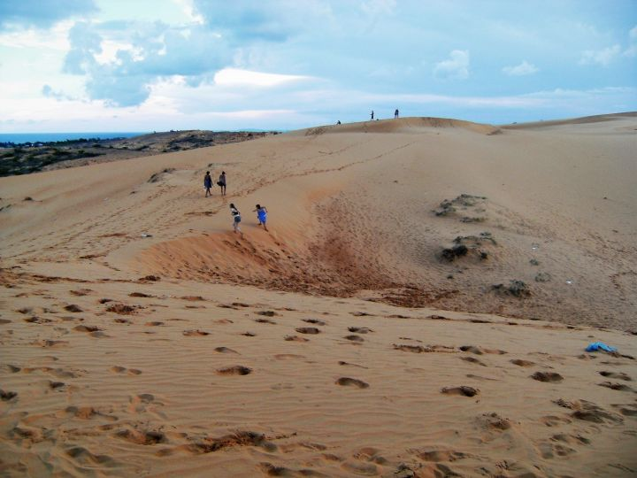 Dunas arena roja en Mui Ne