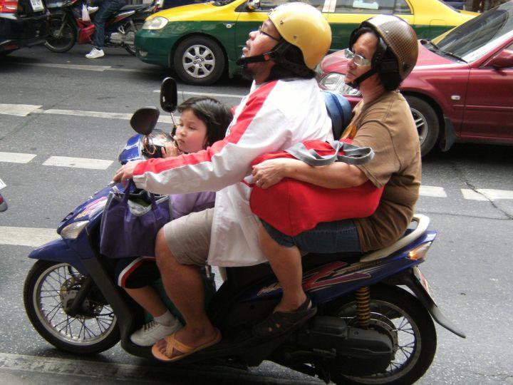 motocicleta Bangkok