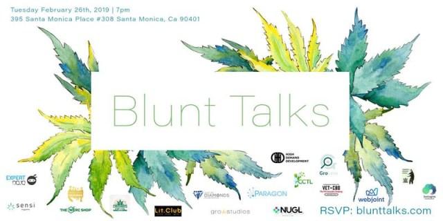 Blunt Talks - Feb 26, 2019 - Expert Dojo - Santa Monica