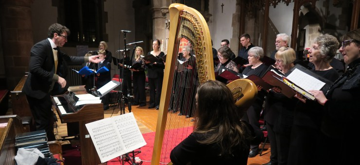 Ex Urbe Chamber Choir in the Midlands concert