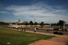 Vista geral da Playa Ramírez, Montevideo, Uruguay, 27/11/2011