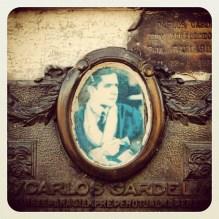Tumba de Carlos Gardel, Cementerio La Chacarita, Buenos Aires, CF, Argentina. 01/jan/2011