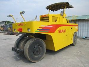 Sakai TA10 Pneumatic Tire Roller 7ban 8.5 ton, 7 tires
