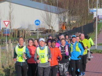 Marathonslopen bij C.A.V. Energie