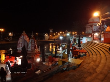 Har Ki Pauri is a famous ghat on the banks of the Ganges in Haridwar in Uttarakhand state in India. This revered place is the major landmark of the holy city of Haridwar.