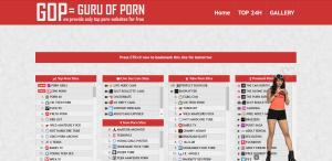 Screenshot guruofporn.com