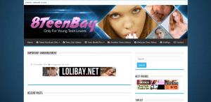 Screenshot 8teenbay.net