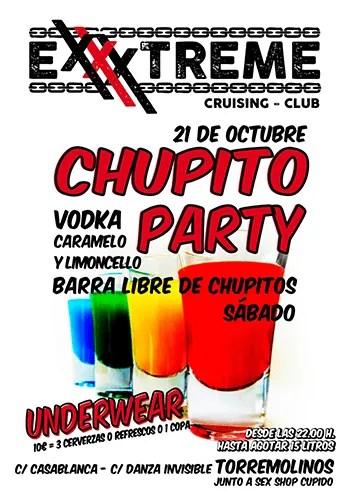 21 de octubre chupito party en EXXXTREME