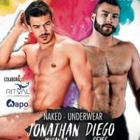 Jonathan Miranda y Diego Reyes en Exxxtreme