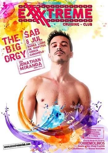 THE BIG ORGY - Sábado 8 de julio en EXXXTREME CLUB