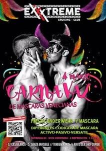 Carnaval en Exxxtreme Cruising Club. Fiesta underwear