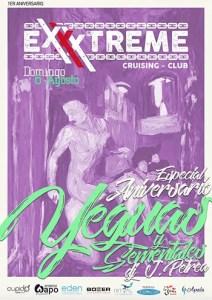 Yeguas y Sementales el Domingo 6 de agosto en Exxxtreme