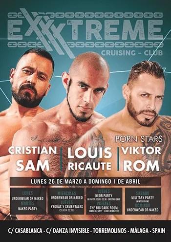 Semana Santa 2018 con Cristian Sam, louis Recaute y Viktor Rom