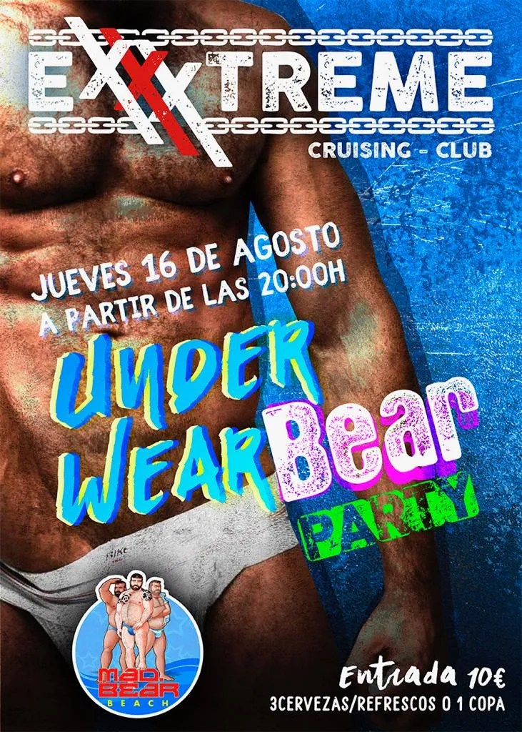 UnderWear Bear Party