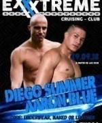 Diego Summer y Aaron Blue el 29 de septiembre en EXXXTREME