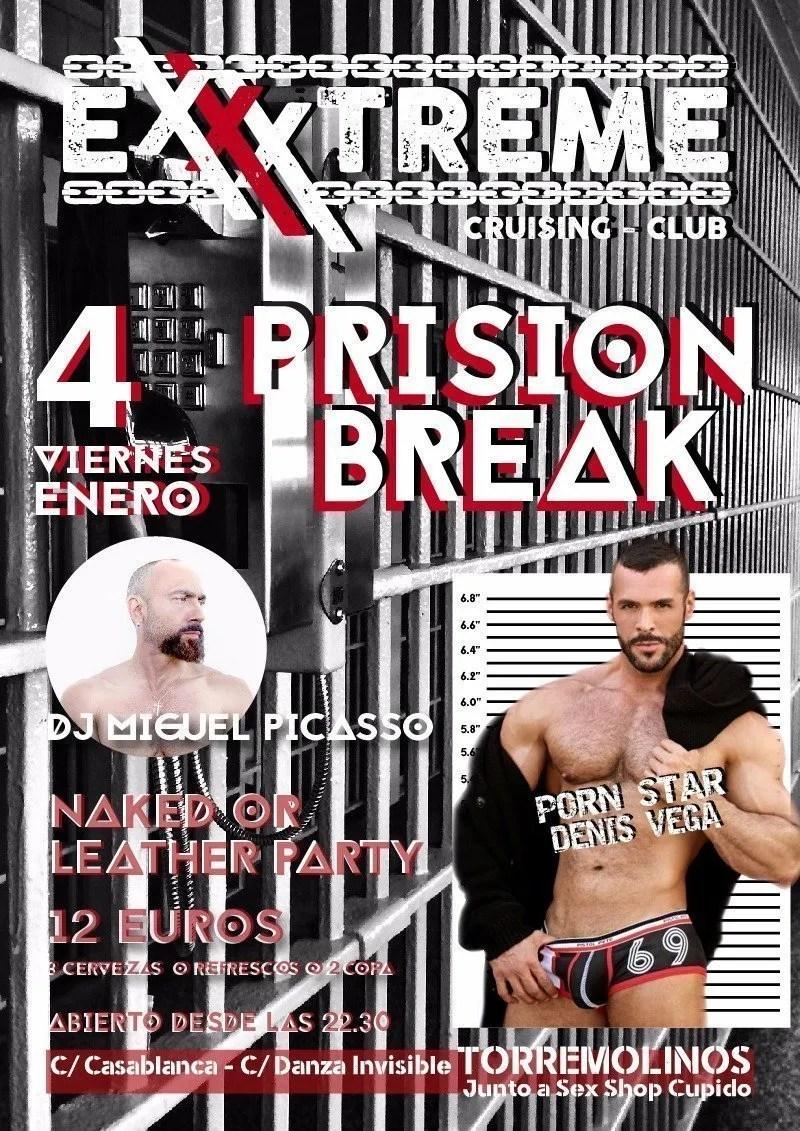 Prision Break con Denis Vega y el DJ Miguel Picasso