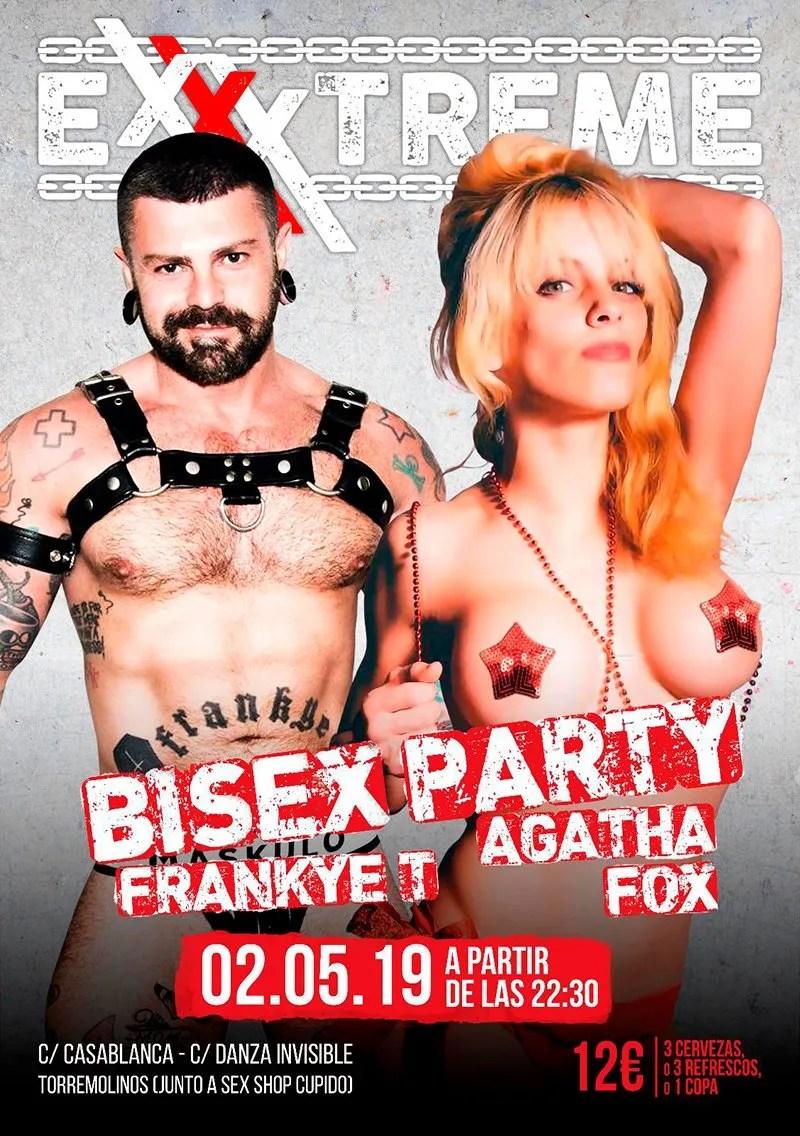 2 de mayo, BISEX PARTY en EXXXTREME