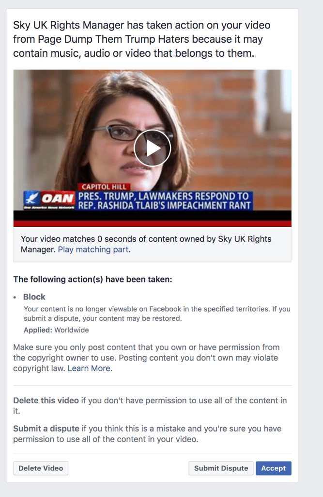 Facebook Banned Me For 3 days 5 6 2020 2