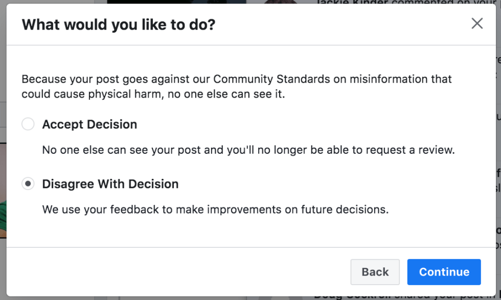 Facebook banned me for 3 days 4th of July 2020 4